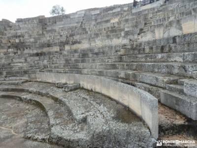 Parque Arqueológico Segóbriga-Monasterio Uclés;mochilas modelos selva de irati sierra de gredos
